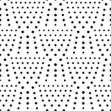 Fond sans couture de polka de modèle de point Photographie stock libre de droits