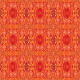 Fond sans couture de polygone orange d'ombre Photos stock