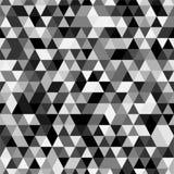 Fond sans couture de Riangle avec des formes de triangle de différentes couleurs Image stock