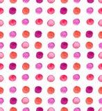 Fond sans couture de tache d'aquarelle illustration libre de droits
