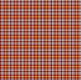 Fond sans couture de tartan Image libre de droits