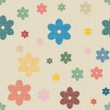 Fond sans couture de textile avec des coeurs illustration de vecteur