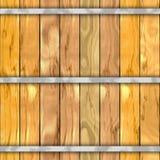 Fond sans couture de texture de modèle de planche en bois de baril illustration stock