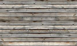 Fond sans couture de texture de mur en bois Image libre de droits