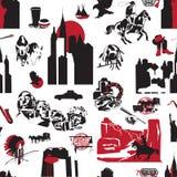 Fond sans couture Etats-Unis Photo libre de droits