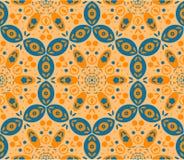 Fond sans couture ethnique abstrait. Image libre de droits