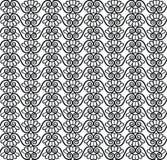 Fond sans couture ethnique abstrait. Ligne florale texture. Images libres de droits