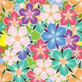 Fond sans couture floral. Image libre de droits