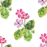 Fond sans couture floral, illustration de vecteur Image stock