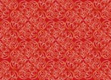 Fond sans couture floral. Texture sans couture géométrique florale beige et brune abstraite illustration stock