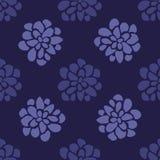 Fond sans couture floral tiré par la main Image stock