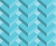 Fond sans couture géométrique abstrait du modèle 3d, fond de rectangles Photos stock