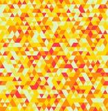 Fond sans couture géométrique d'été de triangle abstraite Image libre de droits