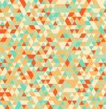 Fond sans couture géométrique d'été de triangle abstraite Photo libre de droits