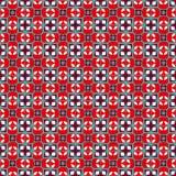 Fond sans couture géométrique dans le rétro style Images stock