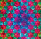 Fond sans couture géométrique de vecteur Image libre de droits