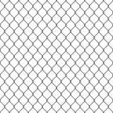 Fond sans couture noir de barrière de maillon de chaîne Images stock