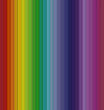 Fond sans couture rayé de spectre coloré vertical Photo libre de droits