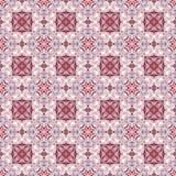 Fond sans couture rouge de sucrerie de menthe poivrée Images libres de droits