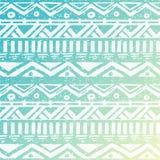 Fond sans couture tribal aztèque tiré par la main Photos stock