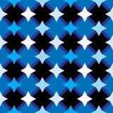 Fond sans joint abstrait avec des étoiles Photo libre de droits