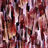 Fond sans joint abstrait d'aquarelle Usine abstraite de pavot de fleur illustration libre de droits