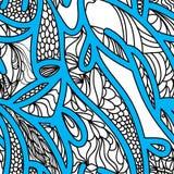 Fond sans joint abstrait de vecteur illustration stock