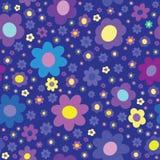 Fond sans joint abstrait Fleurs Image libre de droits