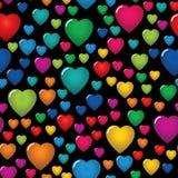 Fond sans joint d'abrégé sur le jour de Valentine Images libres de droits