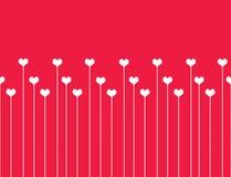 Fond sans joint d'amour. Illustration de Vecteur