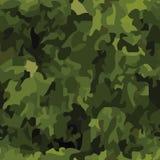 Fond sans joint de camouflage Images stock