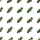 Fond sans joint de configuration de Noël Image stock