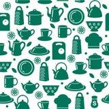 Fond sans joint de cuisine Images libres de droits