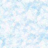 Fond sans joint de neige. Image libre de droits