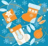 Fond sans joint de Noël Photo stock
