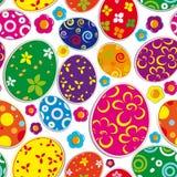 Fond sans joint de Pâques illustration stock
