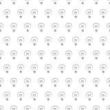Fond sans joint de texture de configuration d'ampoules Photos stock