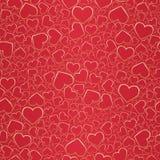 Fond sans joint de Valentine illustration de vecteur