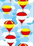 Fond sans joint des ballons Photographie stock libre de droits