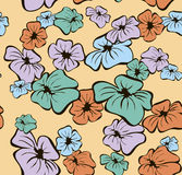 Fond sans joint floral Illustration Stock