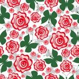 Fond sans joint floral Photo stock