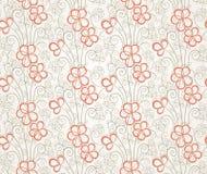 Fond sans joint floral abstrait Photos stock