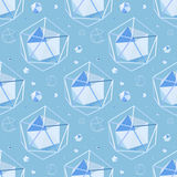 Fond sans joint géométrique illustration stock