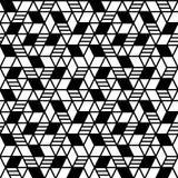 Fond sans joint géométrique de configuration Image libre de droits