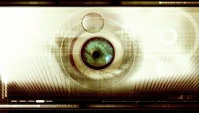 Fond scientifique d'abtract Photographie stock libre de droits