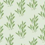 Fond simple avec les feuilles vertes La texture verte, ornementent pour d?corer des tissus, des tuiles et papier et papier peint  illustration libre de droits