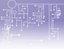 Fond simple de technologie illustration libre de droits