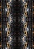 Fond sinueux coloré lumineux généré par ordinateur artistique de fractales de résumé illustration stock
