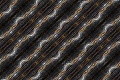 Fond sinueux coloré lumineux généré par ordinateur artistique de fractales de résumé illustration de vecteur