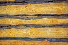 Fond souillé de barrière de bois de construction Image stock
